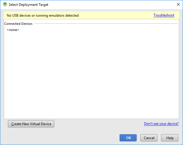 Android-studio-starting-debug