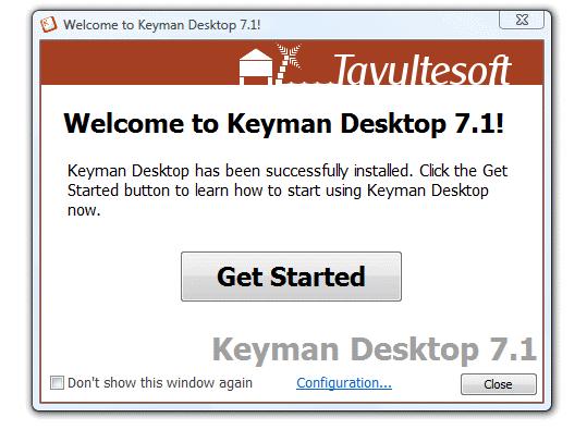 keyman for windows 10
